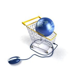 shopping through internet